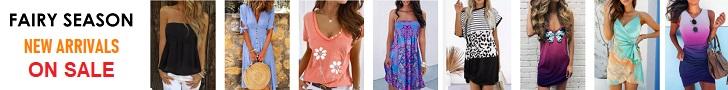تسوق ملابس الموضة الخاصة بك في FairySeason.com